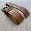 Thumbnail: LT. BROWN Horween Leather strap with RED stitching