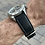 Thumbnail: Waterproof BLACK Top Grain leather and Rubber swim strap