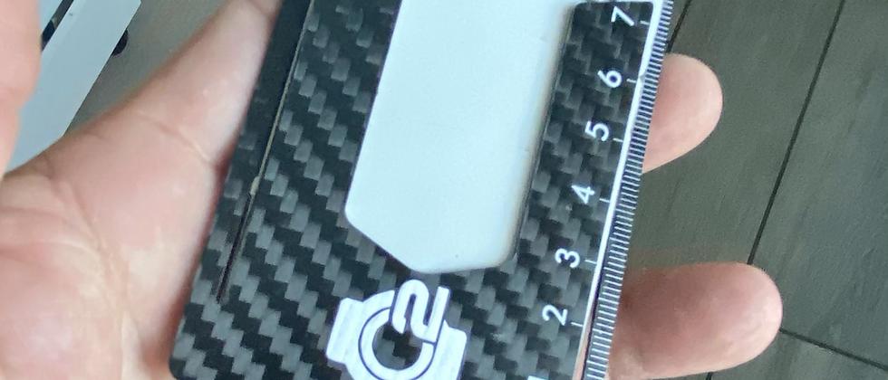 Modern Carbon Fiber minimalistic front pocket wallet