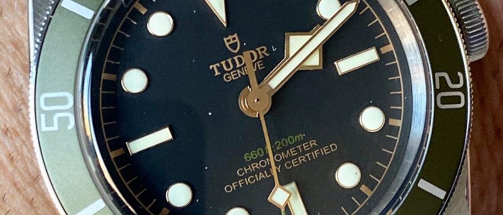 Tudor Nato Black Bay watch straps - Nylon Military bands