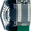 Thumbnail: 20mm GREEN Vulcanized Rolex Rubber Strap - Submariner, GMT, Ex