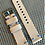 Thumbnail: TAN/BEIGE Vegetable Tanned Leather strap BLUE stitch