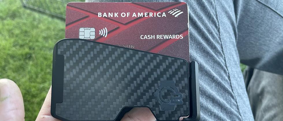 BLACK carbon Minimalistic & Modern Wallet