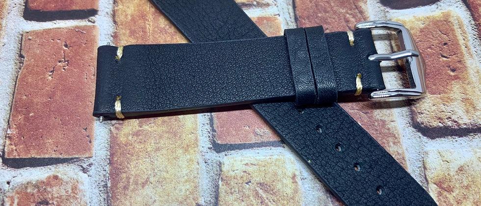 Vintage Leather - Hand Made Slate BLACK