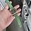 Thumbnail: GREEN Suede leather strap ORANGE Cord