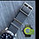 Thumbnail: Tudor Black Bay Nylon MILITARY Strap - GRAY & BLACK