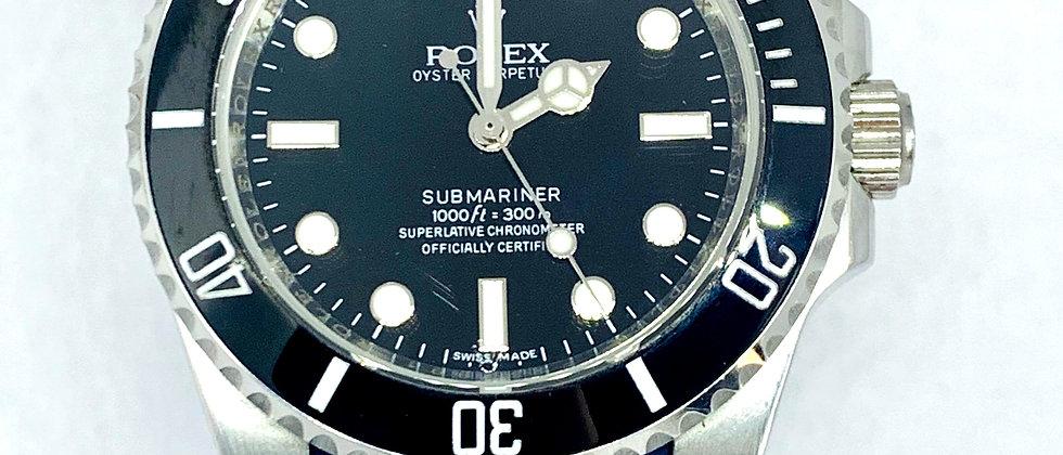 20mm BLUE Vulcanized Rolex Rubber Strap - Submariner, GMT, Explorer II