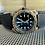 Thumbnail: 24mm BLACK Bell & Ross Italian leather strap BLUE open stitch