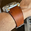 Thumbnail: 24mm Sunset BROWN Italian Leather vintage strap
