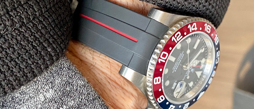 20mm Vulcanized Rubber GMT strap band