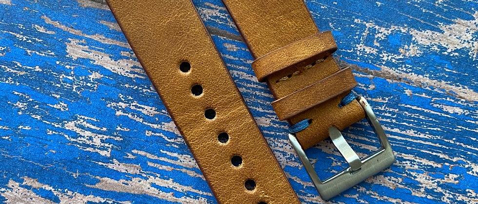 RUSTIC BROWN Antique Vintage Leather GMT strap