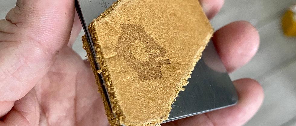 Modern minimalistic front pocket wallet