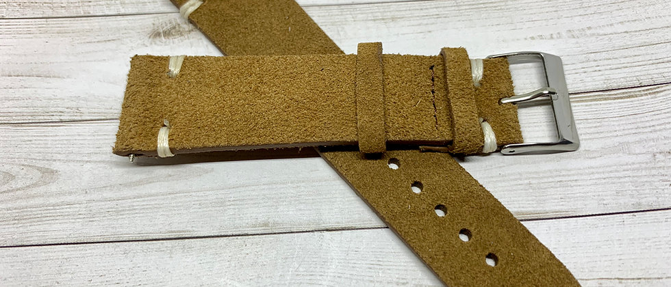 Vintage Suede Leather - Set of 4