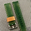 Thumbnail: GREEN Canvas & Leather strap - 4mm thick