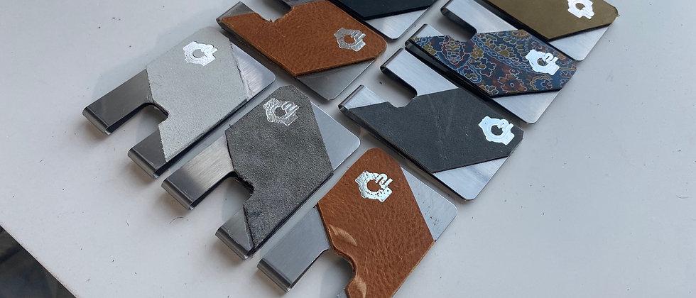 Designer Full Grain Cowhide leather minimalistic front pocket wallet