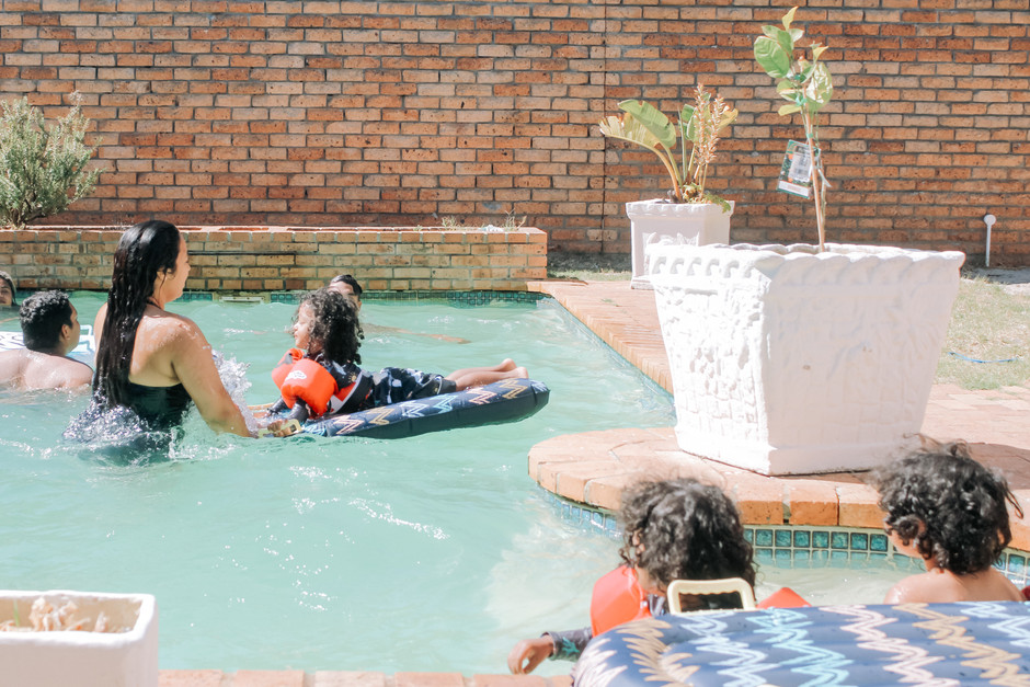 Pool Safety with Puddle Jumpers