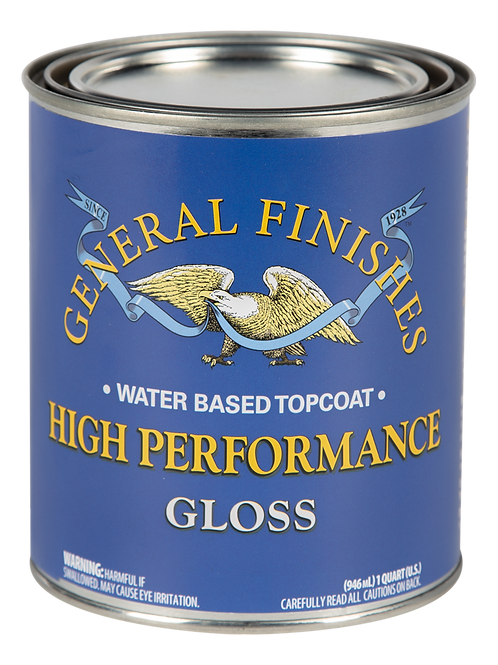 General Finishes High Performance Gloss Topcoat