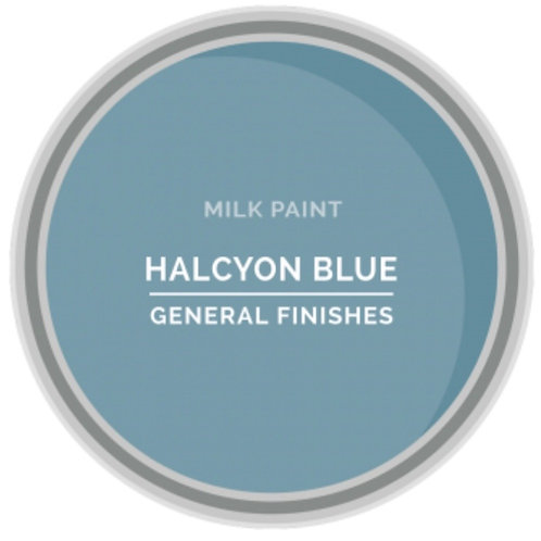General Finishes Halcyon Blue Milk Paint
