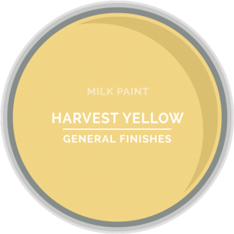 General Finishes Harvest Yellow Milk Paint