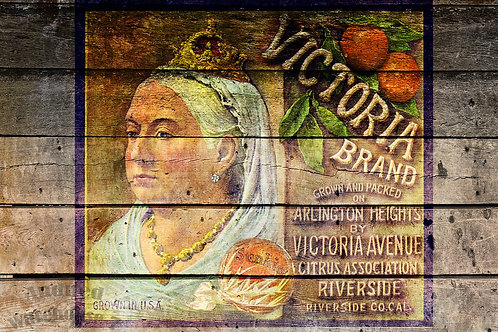 Victoria Brand Antique Crate