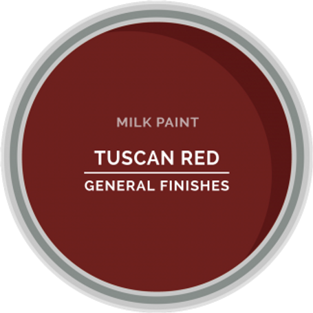 General Finishes Tuscan Red Milk Paint