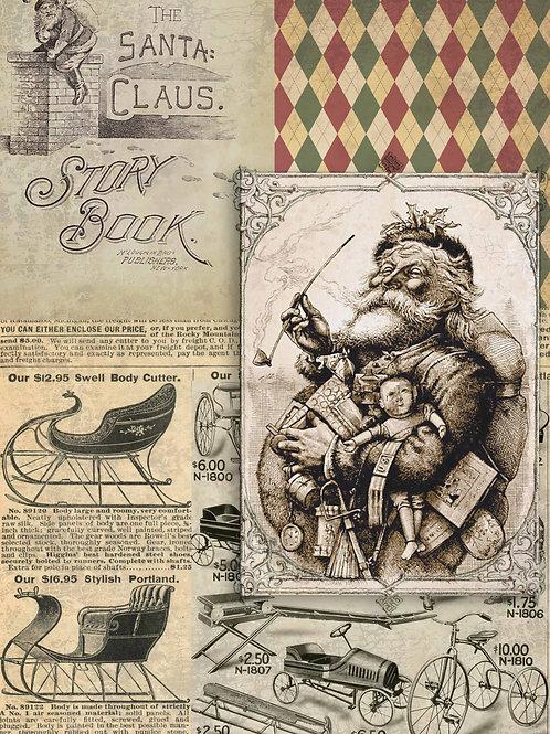 Storybook Santa