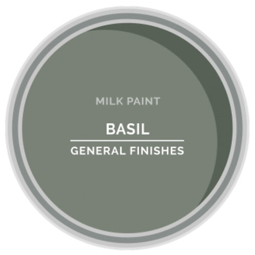 General Finishes Basil Milk Paint