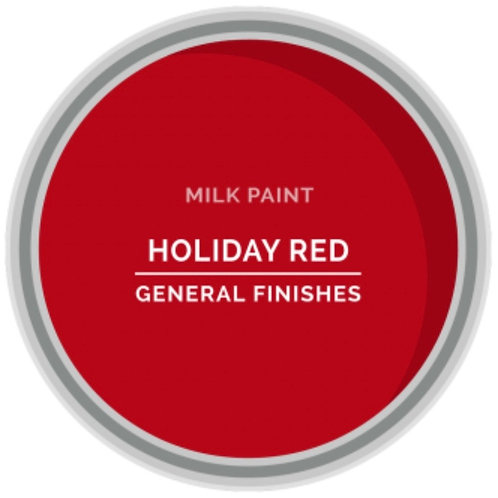 General Finishes Holiday Red Milk Paint