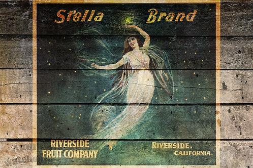 Stella Brand Antique Crate