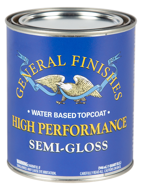 General Finishes High Performance Semi Gloss Topcoat