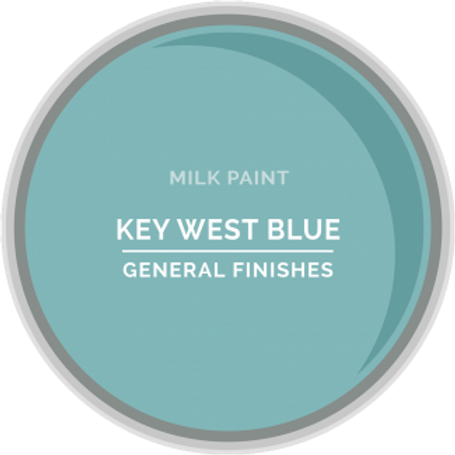 General Finishes Key West Blue Milk Paint