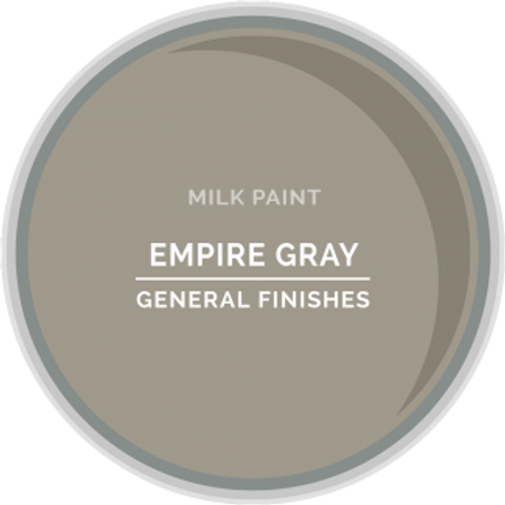 General Finishes Empire Gray Milk Paint