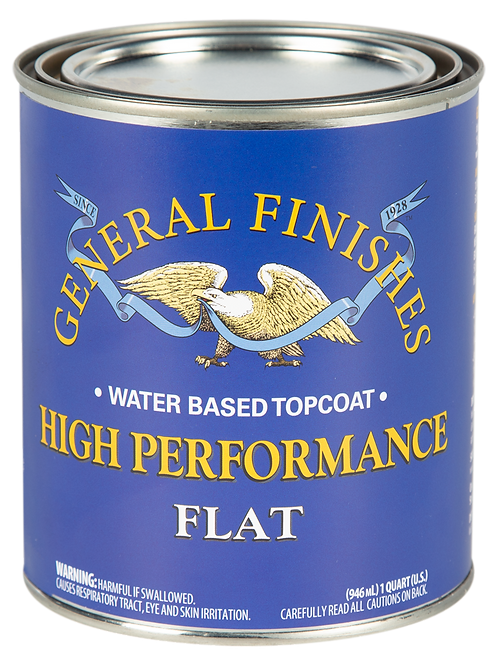 General Finishes High Performance Flat Topcoat