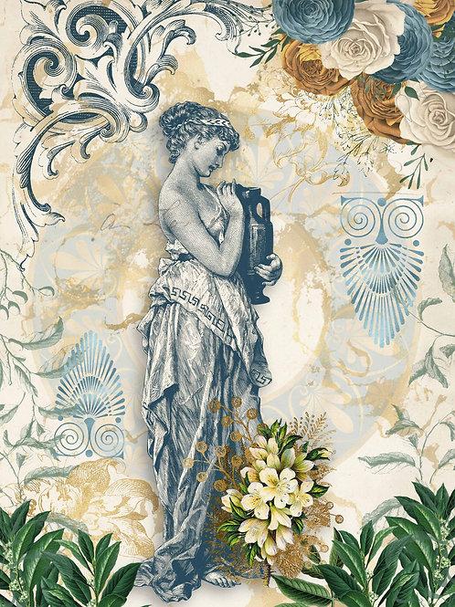 Grecian Goddess with Urns