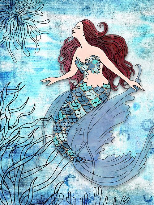 Deep Blue Mermaid