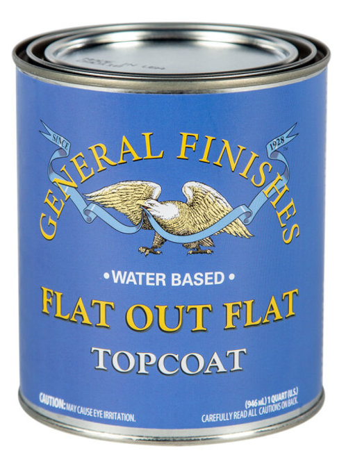General Finishes Flat Out Flat Topcoat