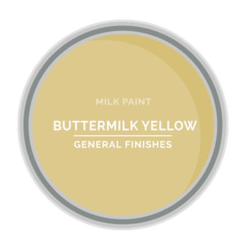 General Finishes Buttermilk Yellow Milk Paint