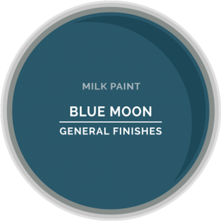 General Finishes Blue Moon Milk Paint