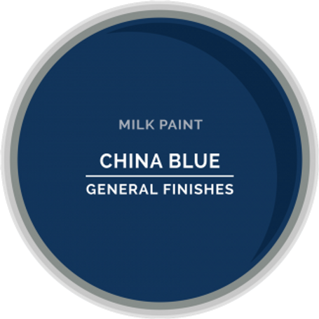 General Finishes China Blue Milk Paint