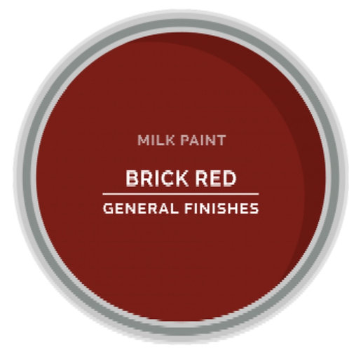 General Finishes Brick Red Milk Paint