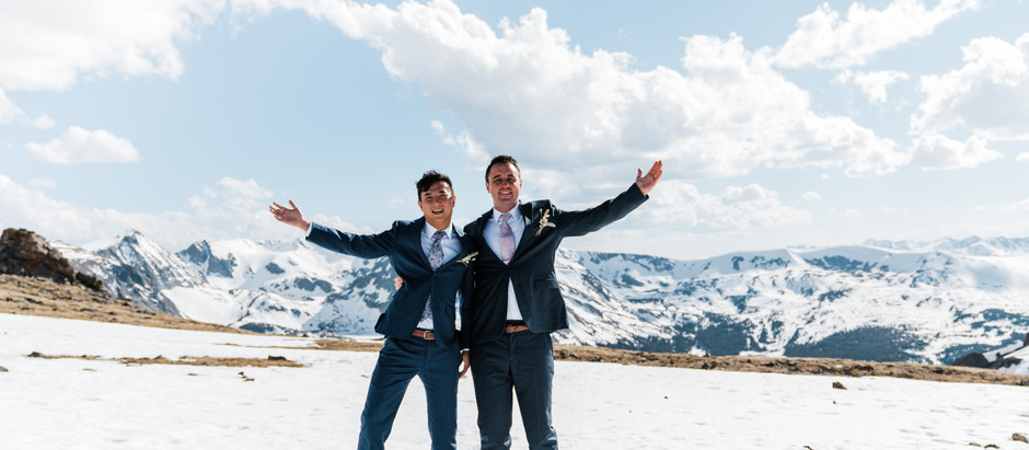 Lin & John's - Adventurous Elopement In The Rocky Mountain National Park