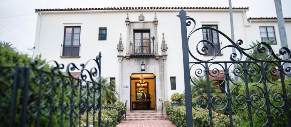 Jewish Wedding in the Historical Riviera Mansion in Santa Barbara - Jessica & Ryan