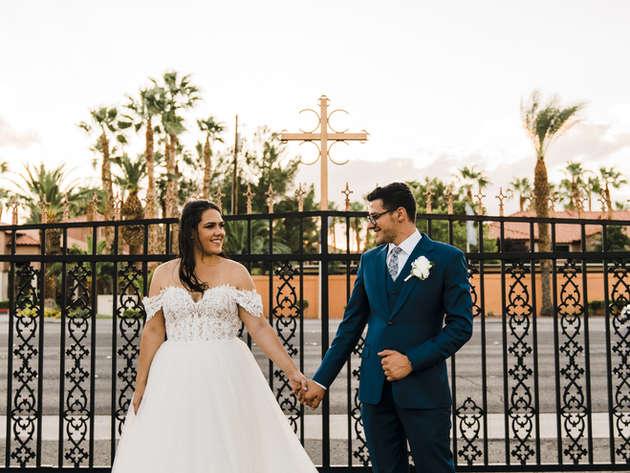 Classic Las Vegas/Serbian Orthodox Wedding