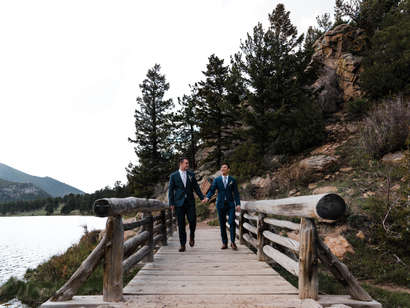 A Fun and Sincere Rocky Mountain Elopement