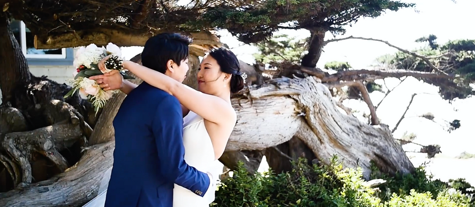 Joanne & Sang - Douglas Beach House & Hastings House - Half Moon Bay, California