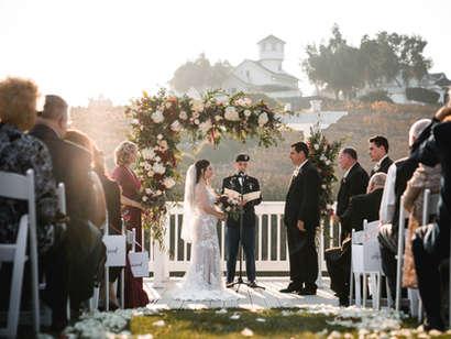 Passionate & Tender Hollister Wedding