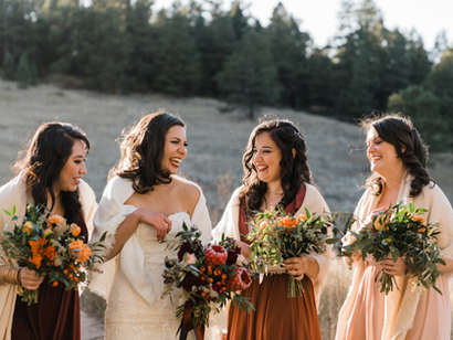 A Fall Meadow Creek Wedding To Fall For