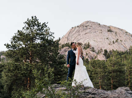 Heartfelt and Sincere Mountain Wedding