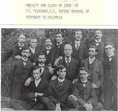 Student Body at Mt Pleasant, S.C.