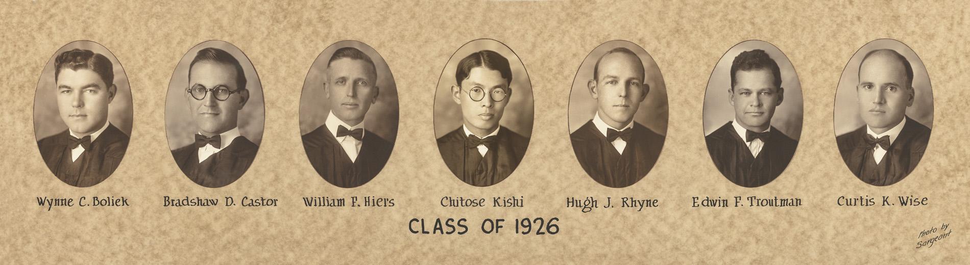 1926 Class Composite